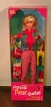 Barbie Doll  Coca-Cola Picnic Fun With Cut Outs on Back of Box NRFB