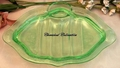 Cambridge Glass Cleo Asparagus Platter