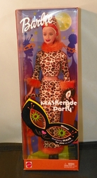 Barbie Doll Halloween Maskerade Party NRFB