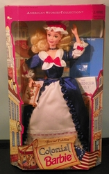 Barbie Doll American History Colonial NRFB SOLD