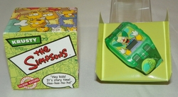 The Simpsons Krusty Burger King Official Talking Watch 2002