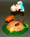 Figurine  Porcelain Peanuts Charlie Brown Titled POW Dept 56