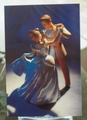 Post Card WDCC Cinderella and the Prince