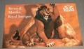Large Post Card WDCC - Lion King Scar Villians