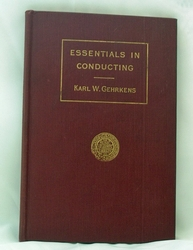 Book Essentials In Conduction 1919