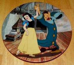 Disney Collector Plate Knowles Snow White May I Have This Dance SOLD