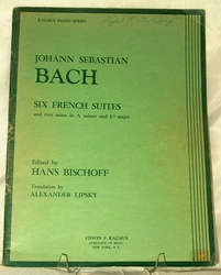 Johann Sebastian Back Six French Suites 1945