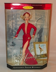 Barbie Collector Edition Marilyn Monroe Gentlemen Prefer Blondes NRFB