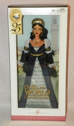 Barbie Collector Doll of the World 25th Anniversary Princess of the Renaissance NRFB SOLD