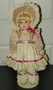 Patricia Jane Porcelain German Repro Doll Images of Our Prairie SOLD