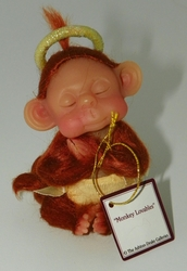 Collectible Miniature Monkey Figurine Titled Monkey Lovables