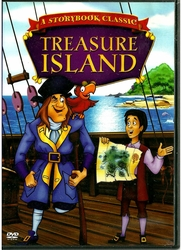 A Storybook Classic Treasure Island (DVD, 2005)