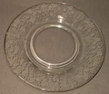 "Mayo Plate Pristine Liner 7"" Rose Point Cambridge"
