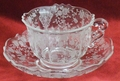 Cambridge Rose Point 3900 Cup & Saucer