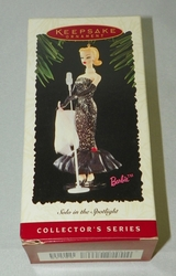 1995 Hallmark Keepsake Ornament Solo in the Spotlight Barbie Collector's Series
