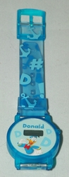 Disney Donald Duck Plastic Digital Quartz Watch Ages over 5