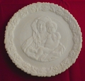Fenton Mothers Day Plate Madonna With Child