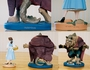 Disney Maquette Set Belle (Artist Proof) & Beast Beauty and the Beast