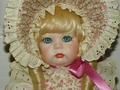 Patricia Jane Porcelain German Repro Doll Images of Our Prairie