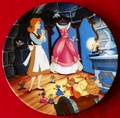 Disney Collector Plate Cinderella  A Dress for Cinderelly 1989