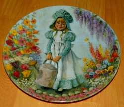 Collector Plate Mary Mary 1st Issue Mother Goose Series 1979