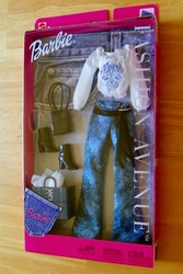 Barbie Fashion Ave Complete Outfit Pants Blouse Boots Handbag