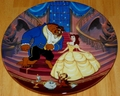 Disney Collector Plate Beauty and the Beast A Blossoming Romance