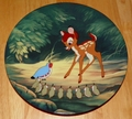 Collector Plate Bambi's Morning Greetings Bambi Series