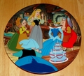 Disney Collector Plate Happy Birthday, Briar Rose Sleeping Beauty