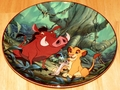 Disney Collector Plate Lion King A Crunchy Feast 1995 3rd Issue