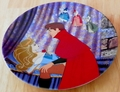 Disney Collector Plate Sleeping Beauty Awakened By A Kiss