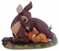 Disney Figurine WDCC Bambi and Mother 2000