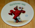 Collector Plate Rockwell Annual Santa Collection Series Jolly Old St. Nick ON HOLD