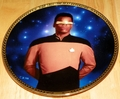 Star Trek Next Generation (TNG) Collector Plate Commander Georgi LaForge