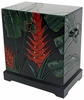 Tropical Heliconia Flower Storage Trunk