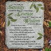 Serenity Prayer Garden Plaque