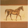 Brown Horse Tapestry Cushion Cover