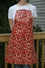Laminated Chillies Print Apron