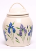 Iris Ceramic Cookie Jar