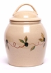 Tuscan Olive Ceramic Cookie Jar