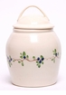 Blueberry Ceramic Cookie Jar