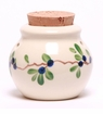 Blueberry Ceramic Garlic Keeper