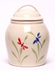 Dragonfly Ceramic Cookie Jar