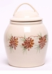 Pinecones Ceramic Cookie Jar