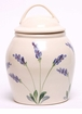 Lavender Ceramic Cookie Jar