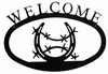 Horseshoe Welcome Sign