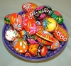 Polish Hand Painted Wooden Eggs