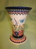 Polish Pottery - Tall  Signature Vase