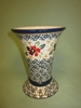 Polish Pottery - Tall Old Country Vase