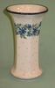 Polish Pottery - Tall Sculptured Vase